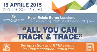 """All You Can Track & Trace"" -  Serialization and RFID solution for Pharmaceutical Industries"